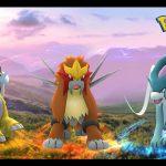 Raikou, Entei y Suicune llegaron a las Incursiones de Pokémon GO