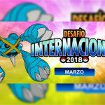 Anunciado el Torneo en Línea Desafío Internacional de Marzo de 2018 de Pokémon Global Link