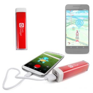No te quedes sin energía cuando salga a la caza de Pokémon. Consigue PowerBank baterías externas con diseños Pokémon.
