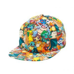 Viste a la moda con los diseños más innovadores y transgresores de la tendencia Pokemon. Descubre tu Gorra Pokemon ideal.