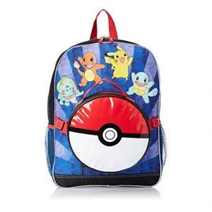 Mochilas de Pokémon para llevar tus libros al colegio o instituto ideales para entrenadores Pokémon.