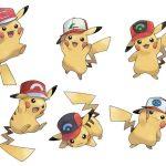 Ya comenzó la distribución de Pikachu con gorra de Ash